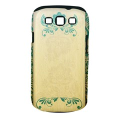 Art Nouveau Green Samsung Galaxy S Iii Classic Hardshell Case (pc+silicone) by 8fugoso