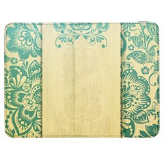 Art Nouveau Green Samsung Galaxy Tab 7  P1000 Flip Case by 8fugoso