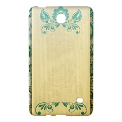 Art Nouveau Green Samsung Galaxy Tab 4 (7 ) Hardshell Case  by 8fugoso