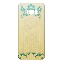 Art Nouveau Green Samsung Galaxy S8 Plus Hardshell Case  by 8fugoso