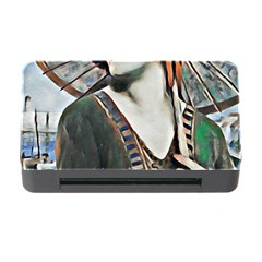 Lady Of Summer 1920 Art Deco Memory Card Reader With Cf by 8fugoso