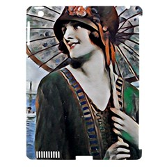Lady Of Summer 1920 Art Deco Apple Ipad 3/4 Hardshell Case (compatible With Smart Cover) by 8fugoso