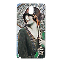 Lady Of Summer 1920 Art Deco Samsung Galaxy Note 3 N9005 Hardshell Back Case by 8fugoso