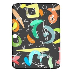Repetition Seamless Child Sketch Samsung Galaxy Tab 3 (10 1 ) P5200 Hardshell Case
