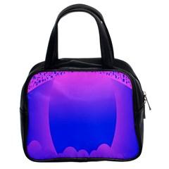 Abstract Bright Color Classic Handbags (2 Sides) by Nexatart