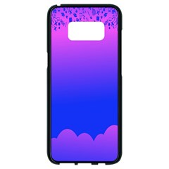 Abstract Bright Color Samsung Galaxy S8 Black Seamless Case