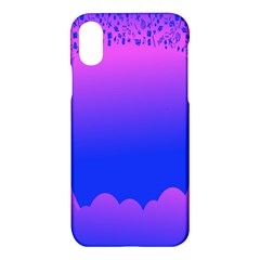 Abstract Bright Color Apple Iphone X Hardshell Case