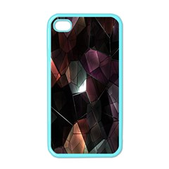 Crystals Background Design Luxury Apple Iphone 4 Case (color)