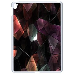 Crystals Background Design Luxury Apple Ipad Pro 9 7   White Seamless Case
