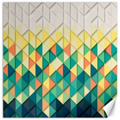 Background Geometric Triangle Canvas 16  X 16