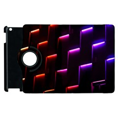 Mode Background Abstract Texture Apple Ipad 2 Flip 360 Case by Nexatart