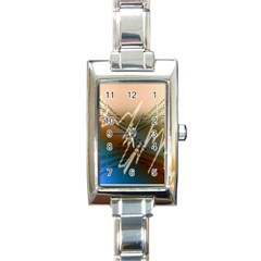 Pop Art Edit Artistic Wallpaper Rectangle Italian Charm Watch