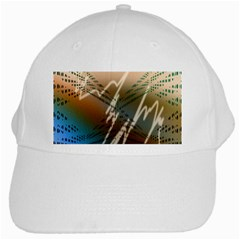 Pop Art Edit Artistic Wallpaper White Cap