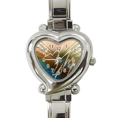Pop Art Edit Artistic Wallpaper Heart Italian Charm Watch