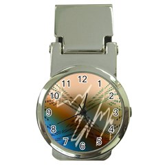 Pop Art Edit Artistic Wallpaper Money Clip Watches