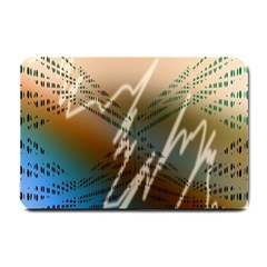 Pop Art Edit Artistic Wallpaper Small Doormat