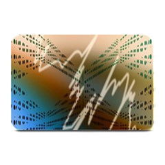 Pop Art Edit Artistic Wallpaper Plate Mats