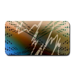 Pop Art Edit Artistic Wallpaper Medium Bar Mats