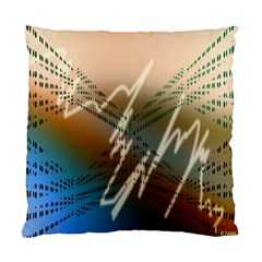 Pop Art Edit Artistic Wallpaper Standard Cushion Case (Two Sides)