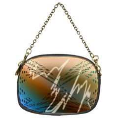 Pop Art Edit Artistic Wallpaper Chain Purses (Two Sides)