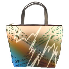 Pop Art Edit Artistic Wallpaper Bucket Bags