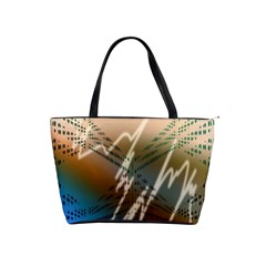 Pop Art Edit Artistic Wallpaper Shoulder Handbags