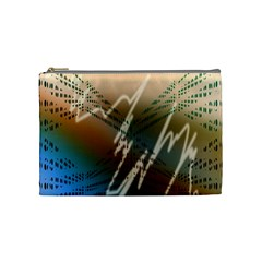 Pop Art Edit Artistic Wallpaper Cosmetic Bag (Medium)