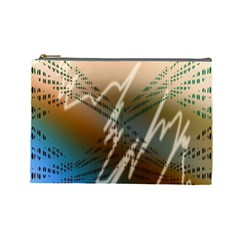 Pop Art Edit Artistic Wallpaper Cosmetic Bag (Large)