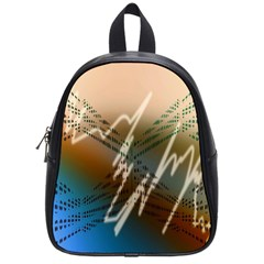 Pop Art Edit Artistic Wallpaper School Bag (Small)