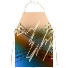 Pop Art Edit Artistic Wallpaper Full Print Aprons