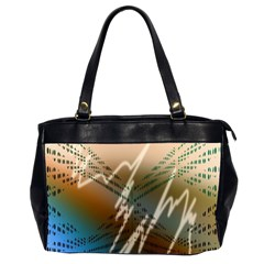 Pop Art Edit Artistic Wallpaper Office Handbags (2 Sides)