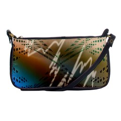 Pop Art Edit Artistic Wallpaper Shoulder Clutch Bags