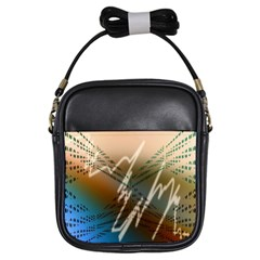 Pop Art Edit Artistic Wallpaper Girls Sling Bags