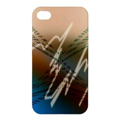 Pop Art Edit Artistic Wallpaper Apple iPhone 4/4S Premium Hardshell Case