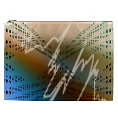 Pop Art Edit Artistic Wallpaper Cosmetic Bag (XXL)