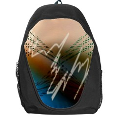 Pop Art Edit Artistic Wallpaper Backpack Bag
