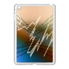 Pop Art Edit Artistic Wallpaper Apple iPad Mini Case (White)