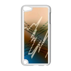 Pop Art Edit Artistic Wallpaper Apple iPod Touch 5 Case (White)