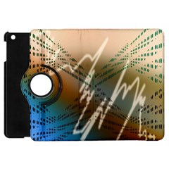 Pop Art Edit Artistic Wallpaper Apple iPad Mini Flip 360 Case