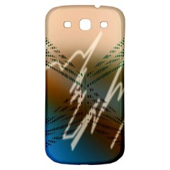 Pop Art Edit Artistic Wallpaper Samsung Galaxy S3 S III Classic Hardshell Back Case