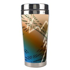 Pop Art Edit Artistic Wallpaper Stainless Steel Travel Tumblers