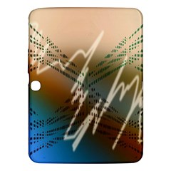 Pop Art Edit Artistic Wallpaper Samsung Galaxy Tab 3 (10.1 ) P5200 Hardshell Case