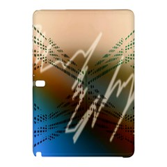 Pop Art Edit Artistic Wallpaper Samsung Galaxy Tab Pro 10.1 Hardshell Case