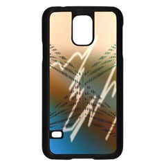 Pop Art Edit Artistic Wallpaper Samsung Galaxy S5 Case (Black)