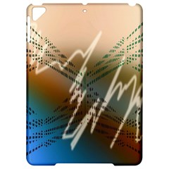Pop Art Edit Artistic Wallpaper Apple iPad Pro 9.7   Hardshell Case