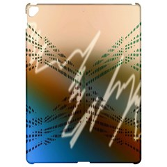 Pop Art Edit Artistic Wallpaper Apple iPad Pro 12.9   Hardshell Case