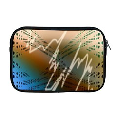 Pop Art Edit Artistic Wallpaper Apple MacBook Pro 17  Zipper Case