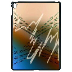Pop Art Edit Artistic Wallpaper Apple iPad Pro 9.7   Black Seamless Case