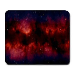 Astronomy Space Galaxy Fog Large Mousepads by Nexatart