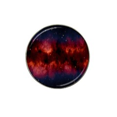 Astronomy Space Galaxy Fog Hat Clip Ball Marker (10 Pack)
